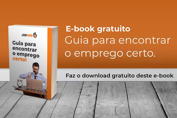Ebook - Guia para encontrar o emprego certo